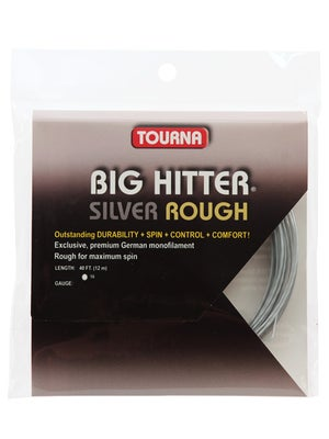 Tourna Poly Big Hitter Silver Rough String 16