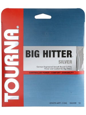 Tourna Poly Big Hitter Silver String 16