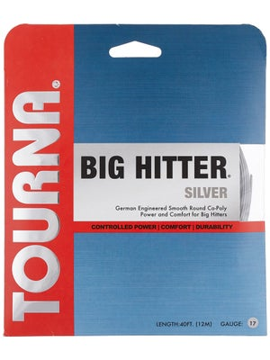 Tourna Poly Big Hitter Silver String 17
