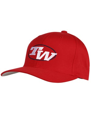 Tennis Warehouse Flex Fit Hat Red