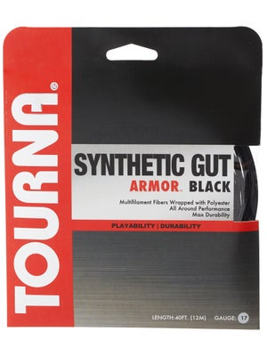 Tourna Synthetic Gut Armor String 17 Black
