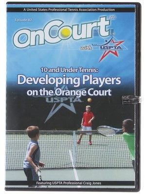 USPTA On Court - 10 & Under: Developing Players Orange