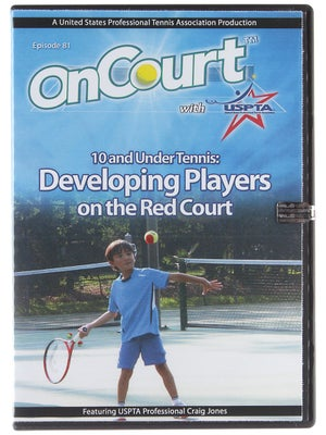 USPTA On Court - 10 & Under: Developing Players Red