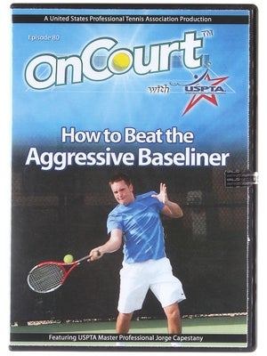 USPTA On Court - How to Beat the Aggressive Baseliner
