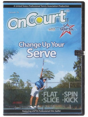 USPTA On Court - Change Up Your Serve