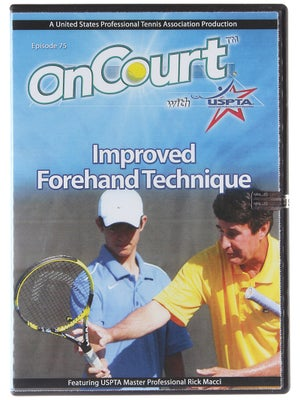 USPTA On Court - Improved Forehand Technique
