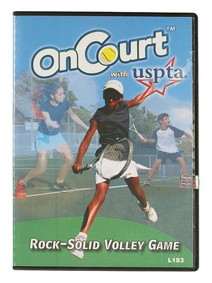 USPTA On Court - Rock Solid Volleys