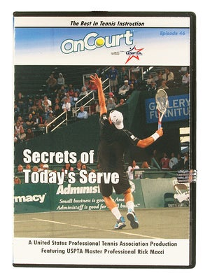 USPTA On Court - Secrets of Today's Serve