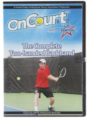 USPTA On Court - The Complete Two-Handed Backhand