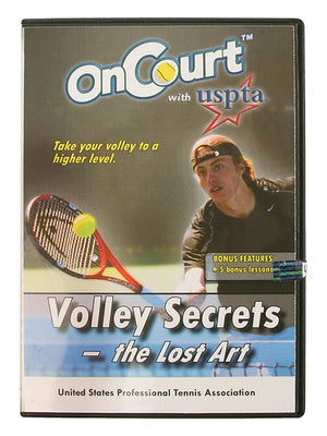 USPTA On Court - Volley Secrets:The Lost Art