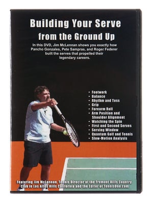 Building Your Serve From Ground Up DVD