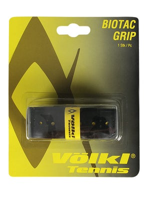 Volkl Biotac Grip-(Black w/Yellow Dots)