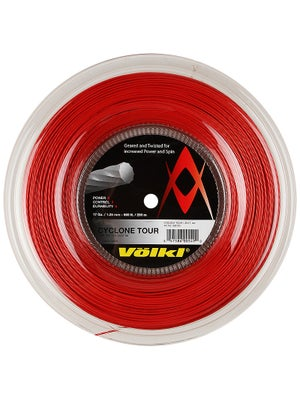Volkl Cyclone Tour 17 String Reel Red