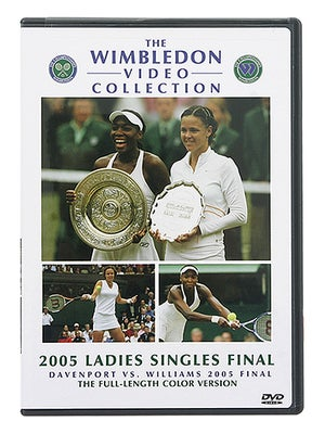Wimbledon - Williams vs Davenport 2005 DVD