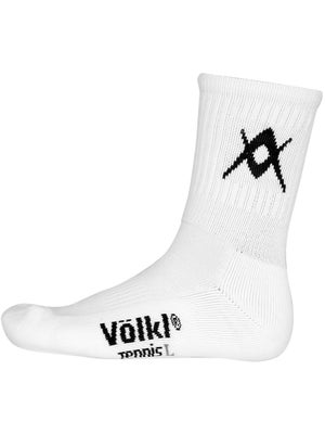 Volkl Men's Crew Socks White