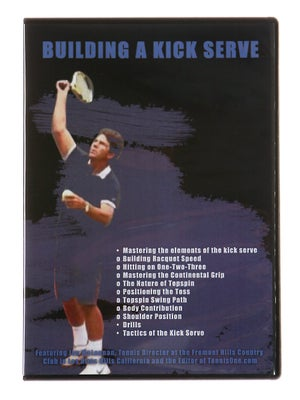Building A Kick Serve DVD