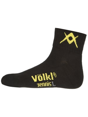 Volkl Men's Quarter Socks Black