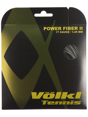 Volkl Power Fiber II 17 String Black