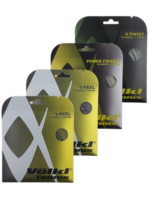Volkl Multi 16 Trial Pack String (4-Pack)