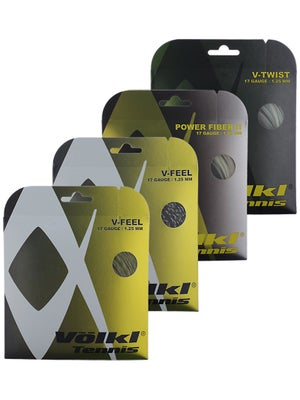 Volkl Multi 17 Trial Pack String (4-Pack)