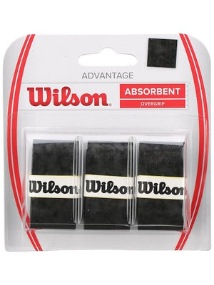 Wilson Advantage Overgrip 3-Pack Black