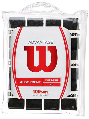 Wilson Advantage Overgrip 12-Pack Black