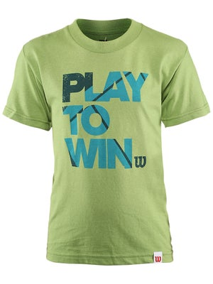 Wilson Boy's Play To Win T-Shirt