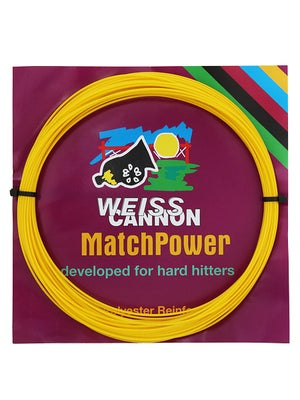 Weiss CANNON MatchPower 16L (1.25) Yellow String