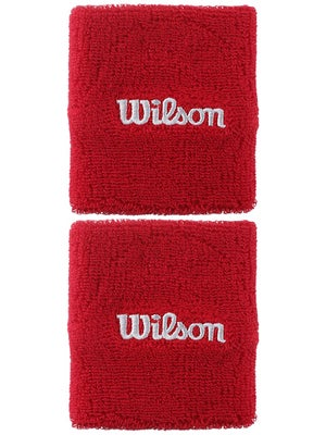 Wilson Doublewide Wristband Red