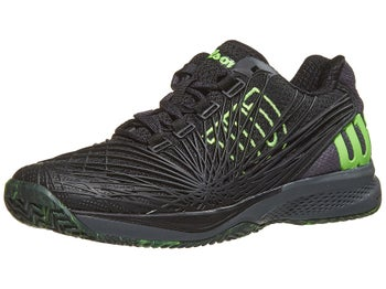 379a7d9d5b3 Product image of Wilson Kaos 2.0 Black/Green Junior Shoe