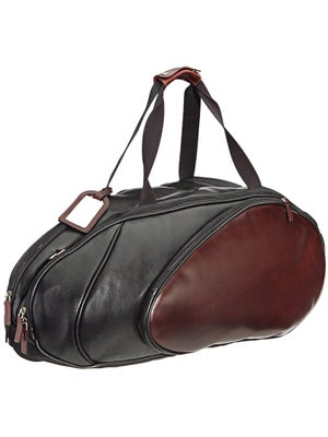 Wilson Black Leather 6 Pack Bag