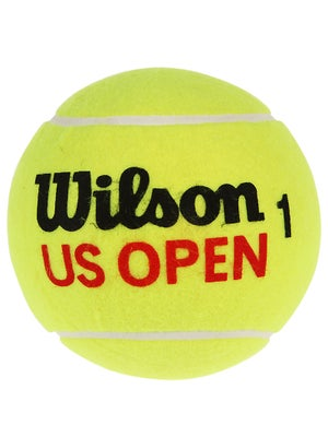 Wilson US Open Mini Jumbo Tennis Ball Yellow