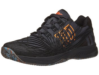 a91c63237cf7 Product image of Wilson Kaos 2.0 Ebony Black Orange Men s Shoe