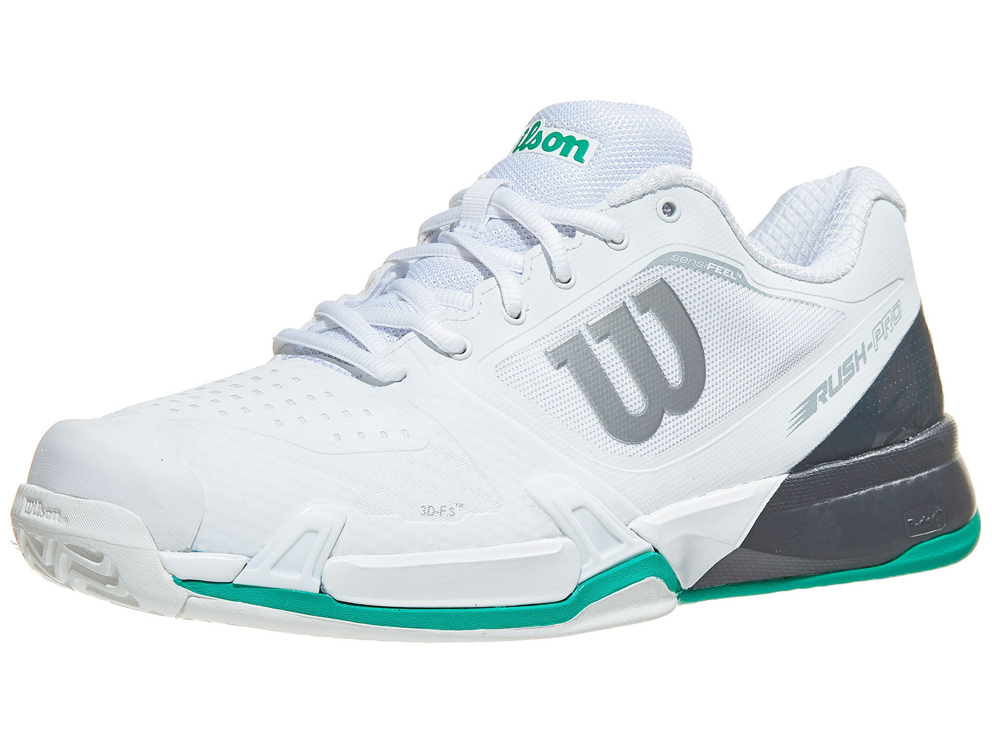 Wilson Rush Pro 2.5 Black Mens Tennis Shoes