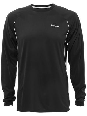 Wilson Men's Spring Core Straight Sets LS Top