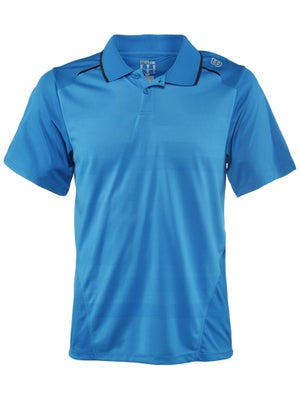 Wilson Men's Specialist Mesh Striped Polo
