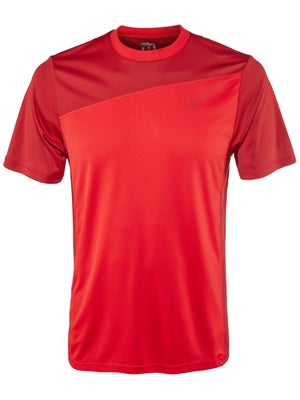 Wilson Men's Rush Colorblock Crew - Red