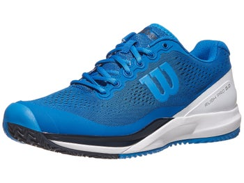 Product image of Wilson Rush Pro 3.0 Blue White Men s Shoe d6d49583979