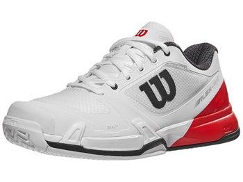Product image of Wilson Rush Pro 2.5 White Red Men s Shoe aa179142094