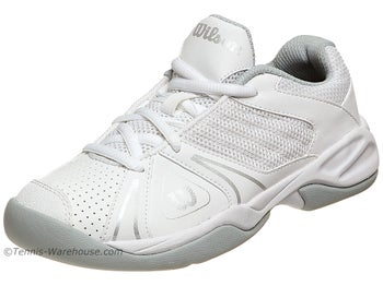 Wilson Open White/Grey Junior Shoes