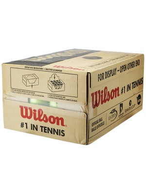 Wilson Practice Tennis Ball 24 Can Case