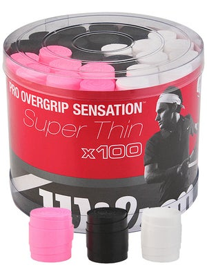 Wilson Pro Overgrip Sensation 100 Count Bucket