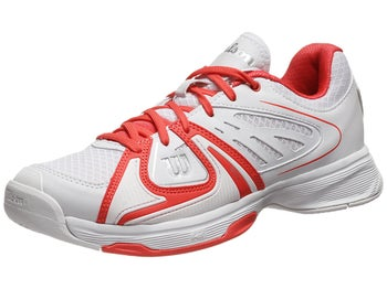 Wilson Rush 2 White/Coral Women's Shoe