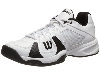 Wilson Rush Open White/Black Men's Shoe
