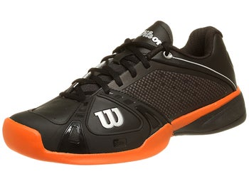 Wilson Rush Pro Black/Orange Men's Shoe