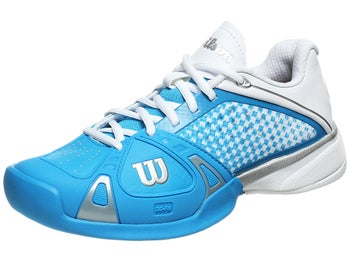 Wilson Rush Pro Blue/White Women's Shoe