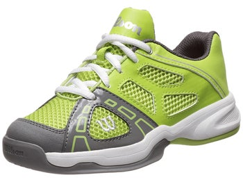 Wilson Rush Pro 2 Green/Graphite Junior Shoes