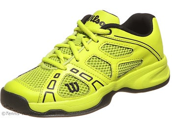 Wilson Rush Pro Lime/Black Junior Shoes