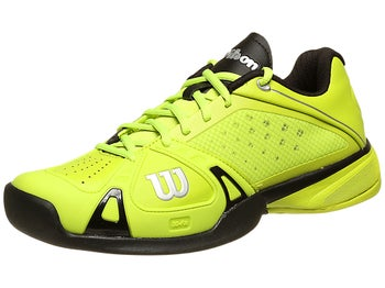 Wilson Rush Pro Lime/Black Men's Shoe