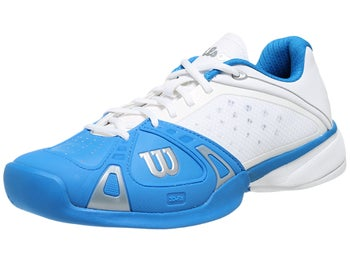 Wilson Rush Pro Blue/White Men's Shoe